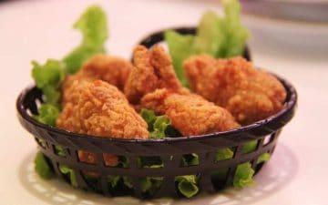 Friturestegt kylling
