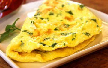 Omelet opskrift