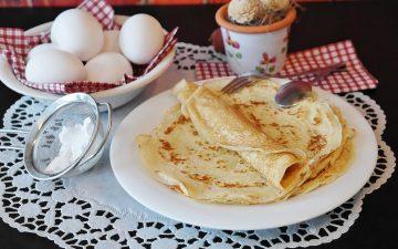 pandekager og pandekagedej opskrift
