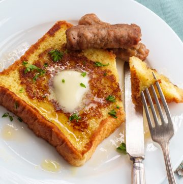 Arme riddere / French Toast opskrift