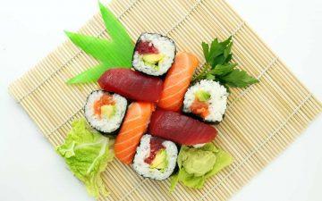 hjemmelavet sushi opskrift