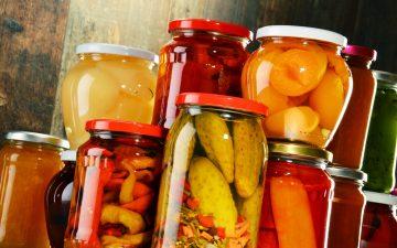 Syltning af frugter og grøntsager