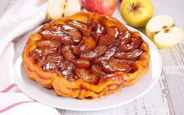 Tarte Tatin - Fransk æbletærte