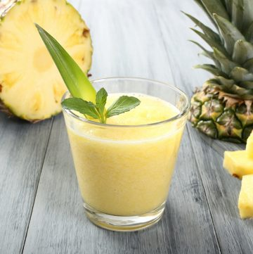 Ananas-Banan Smoothie